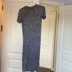 Cutout tee shirt dress